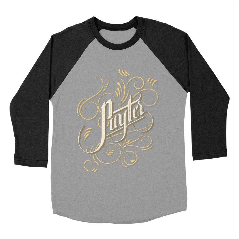 Payter Men's Baseball Triblend T-Shirt by DOMINATE'S Artist Shop