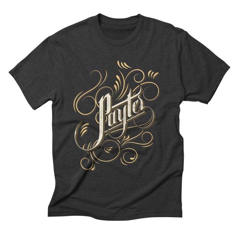 Payter Men's Triblend T-shirt by DOMINATE'S Artist Shop