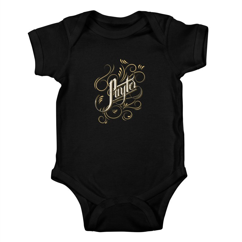 Payter Kids Baby Bodysuit by DOMINATE'S Artist Shop