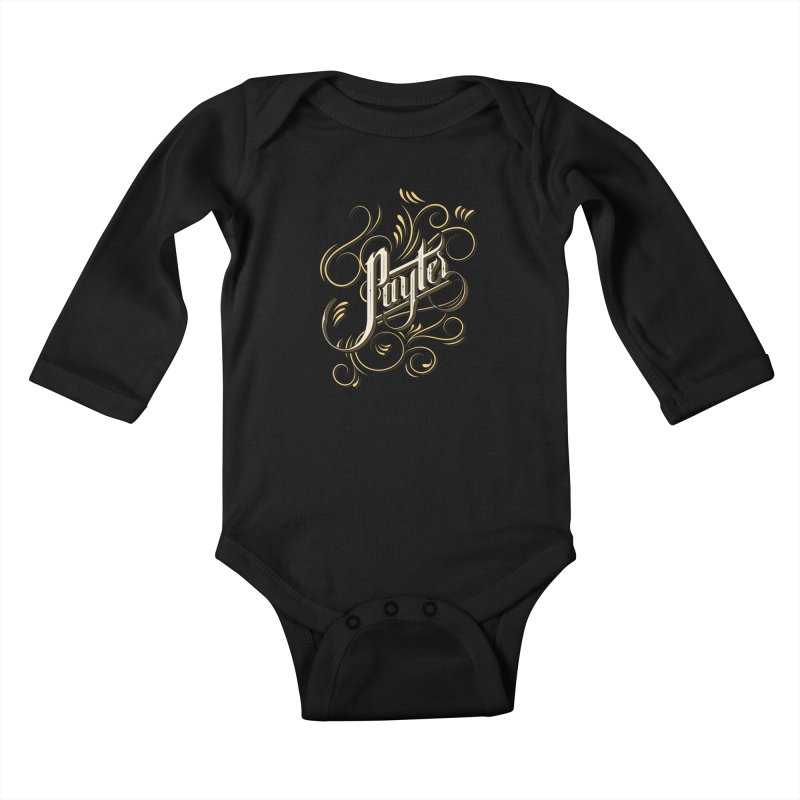 Payter Kids Baby Longsleeve Bodysuit by DOMINATE'S Artist Shop
