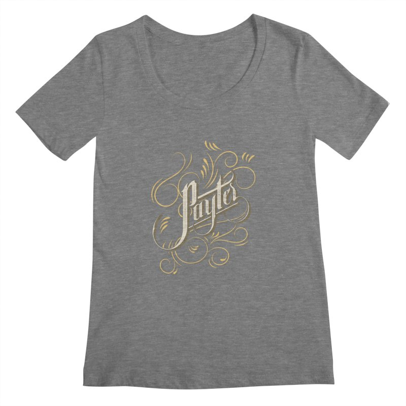 Payter Women's Scoopneck by DOMINATE'S Artist Shop