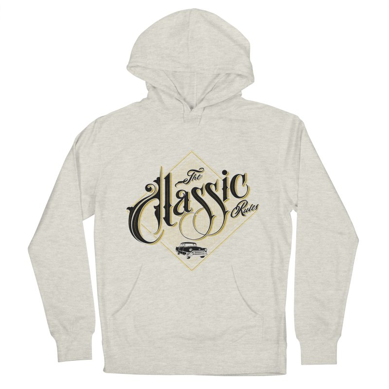 Classic Rules Men's Pullover Hoody by DOMINATE'S Artist Shop