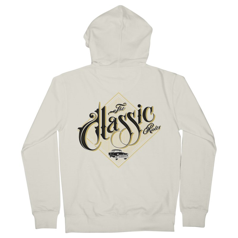 Classic Rules Women's Zip-Up Hoody by DOMINATE'S Artist Shop