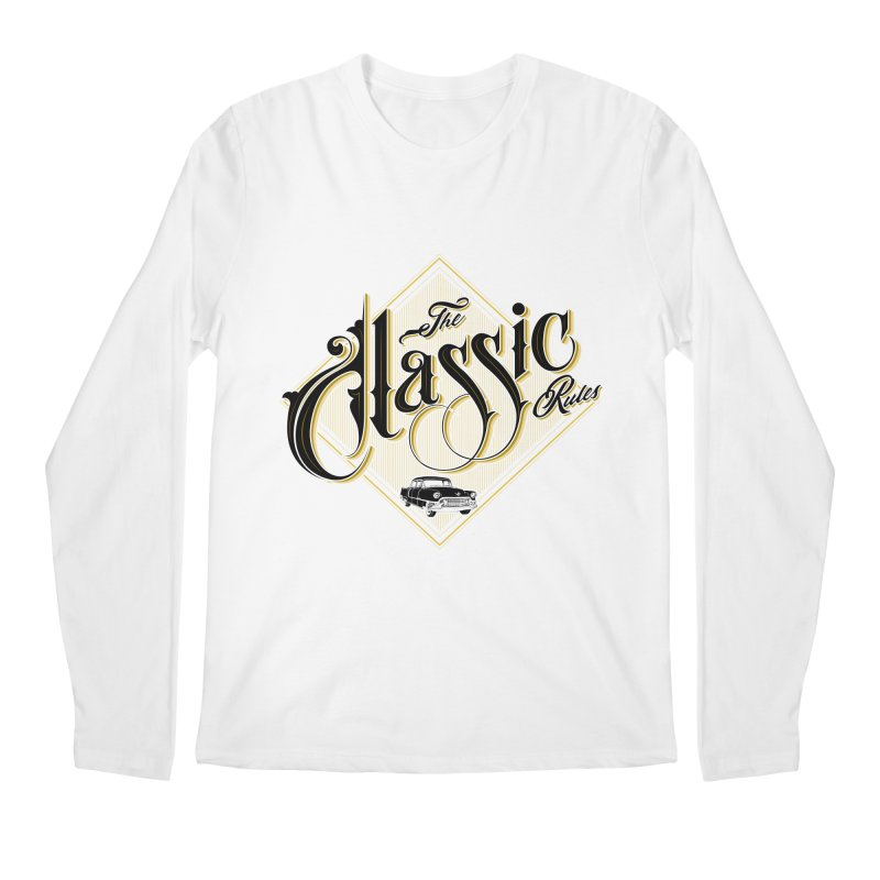 Classic Rules Men's Longsleeve T-Shirt by DOMINATE'S Artist Shop