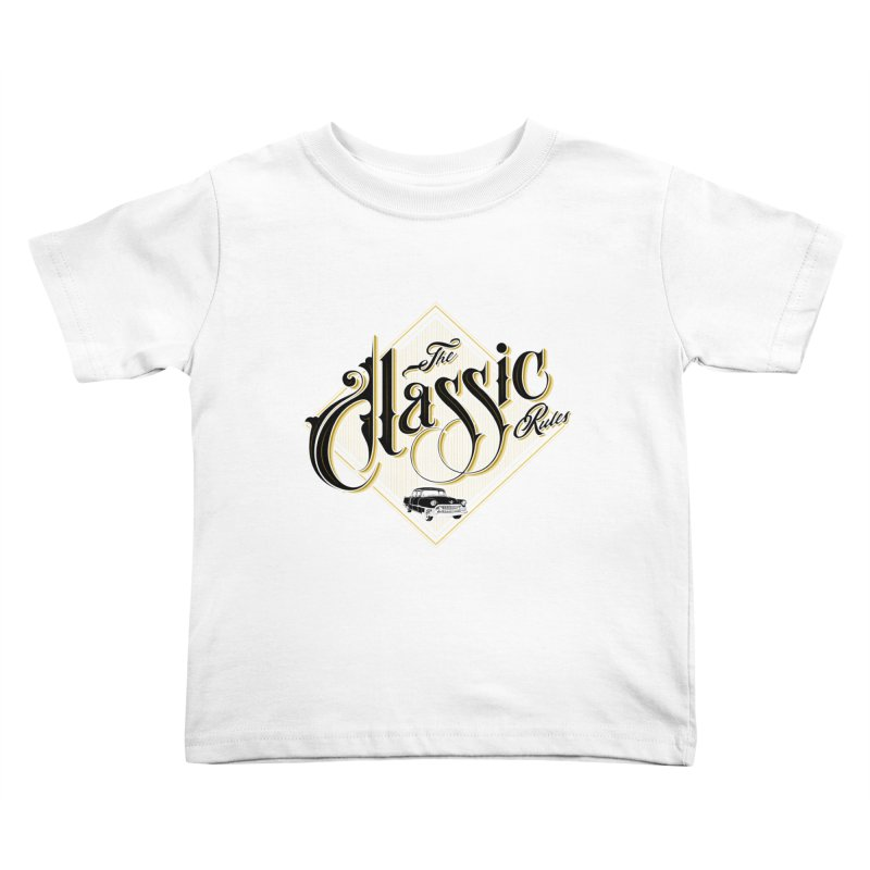Classic Rules Kids Toddler T-Shirt by DOMINATE'S Artist Shop