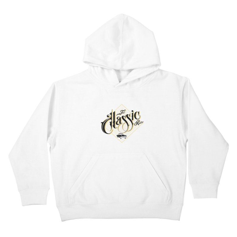 Classic Rules Kids Pullover Hoody by DOMINATE'S Artist Shop
