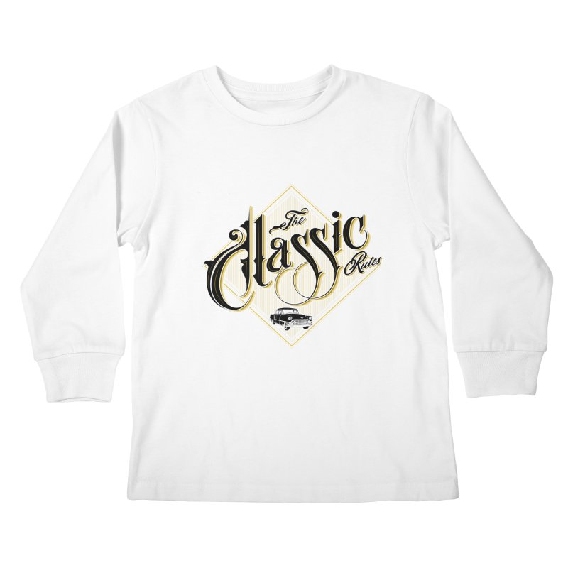 Classic Rules Kids Longsleeve T-Shirt by DOMINATE'S Artist Shop