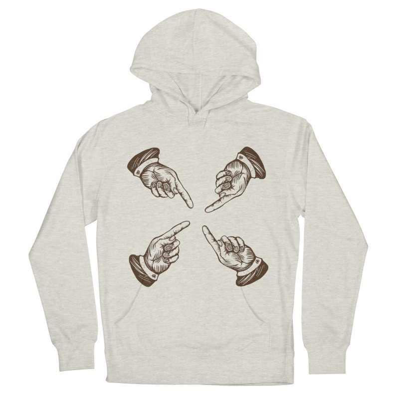 Who to blame? Men's Pullover Hoody by DOMINATE'S Artist Shop