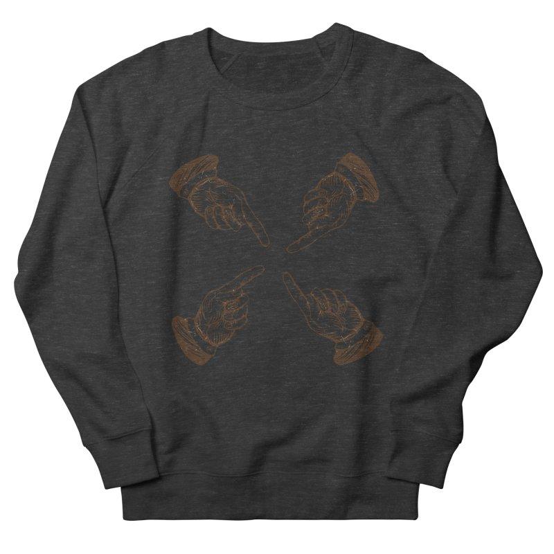 Who to blame? Men's Sweatshirt by DOMINATE'S Artist Shop
