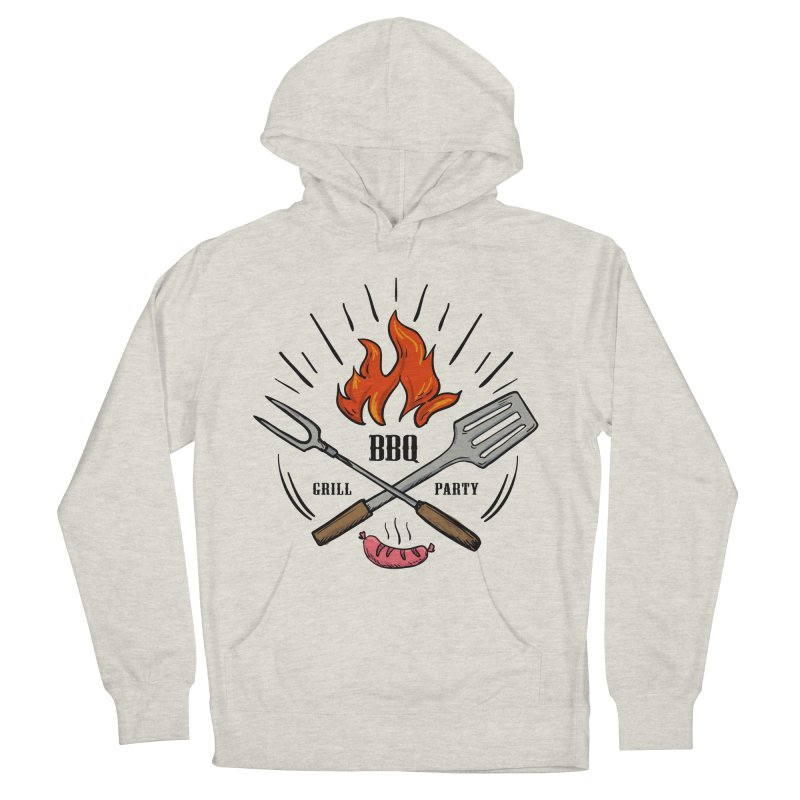 BBQ Time! Women's Pullover Hoody by DOMINATE'S Artist Shop