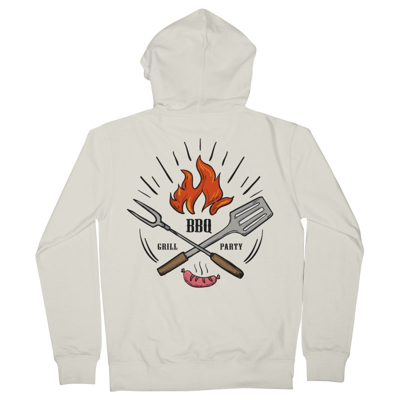 BBQ Time! Women's Zip-Up Hoody by DOMINATE'S Artist Shop