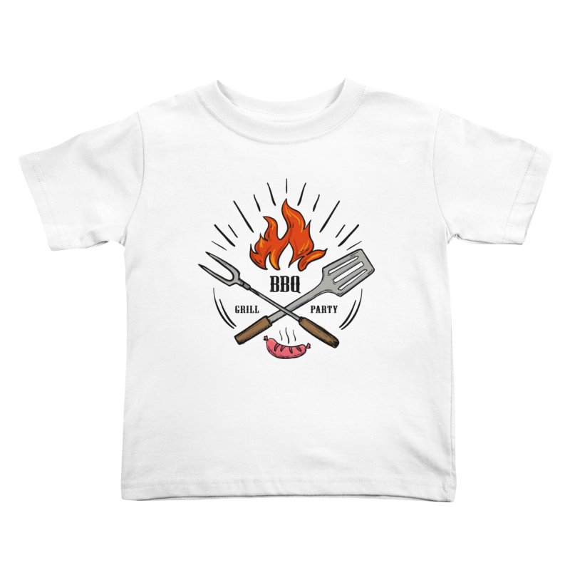 BBQ Time! Kids Toddler T-Shirt by DOMINATE'S Artist Shop