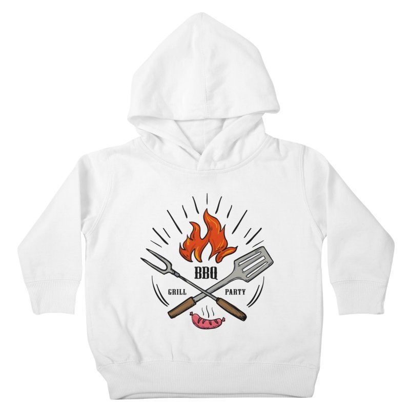 BBQ Time! Kids Toddler Pullover Hoody by DOMINATE'S Artist Shop