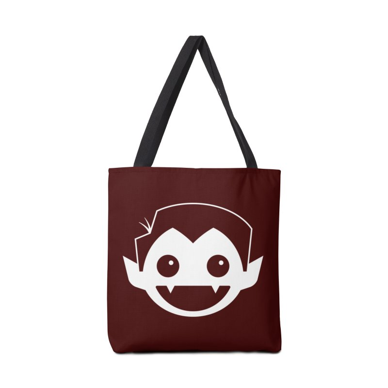 DRACULAD Logo-White Accessories Tote Bag Bag by DRACULAD Shop