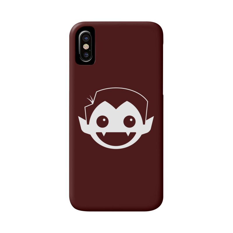 DRACULAD Logo-White Accessories Phone Case by DRACULAD Shop