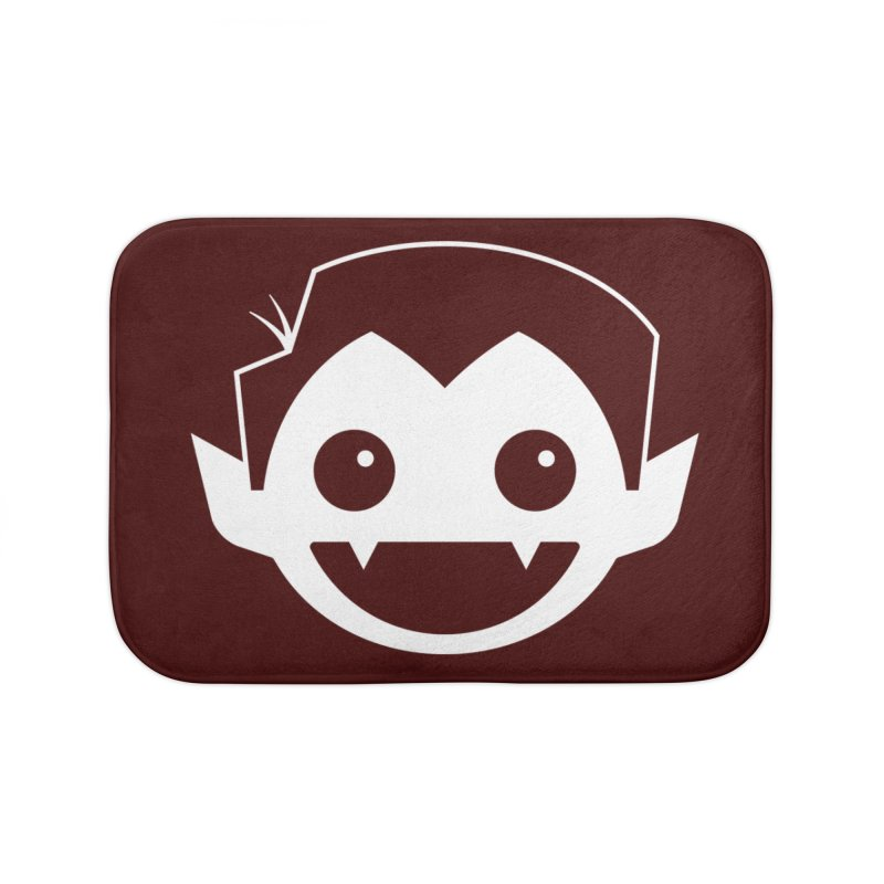 DRACULAD Logo-White Home Bath Mat by DRACULAD Shop