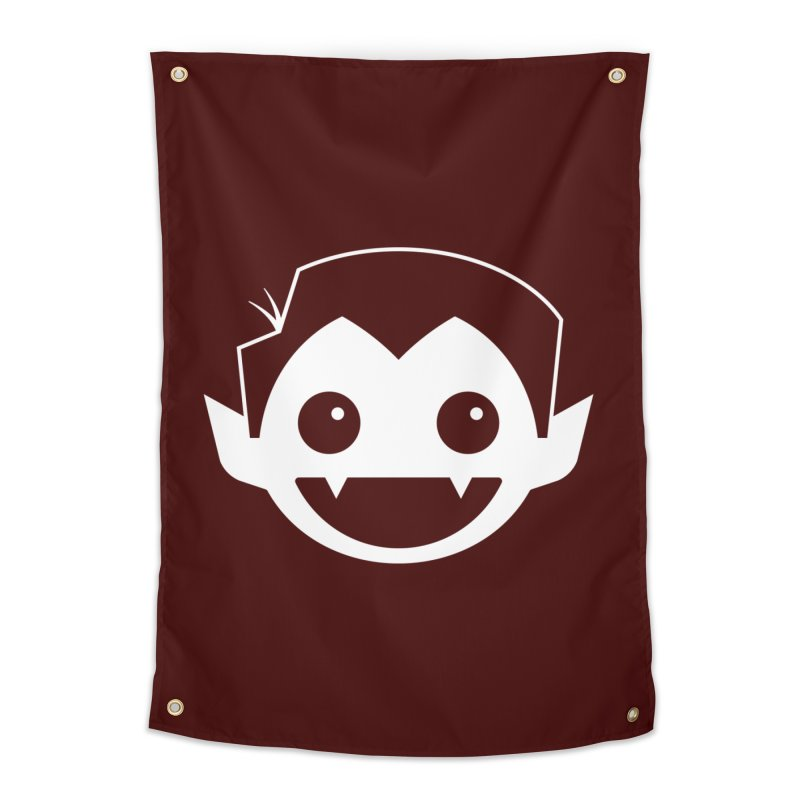 DRACULAD Logo-White Home Tapestry by DRACULAD Shop