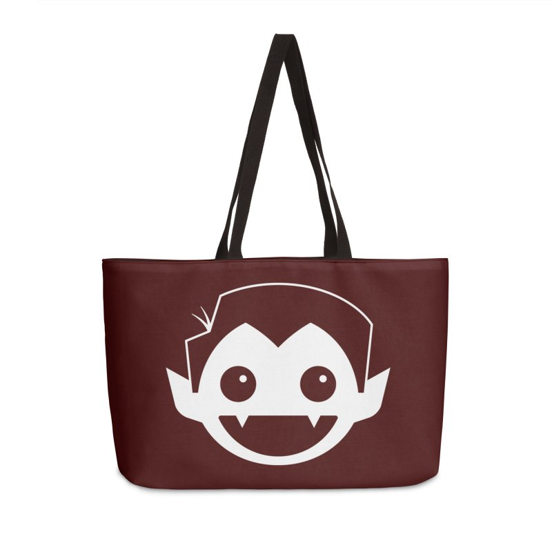 DRACULAD Logo-White Accessories Bag by DRACULAD Shop