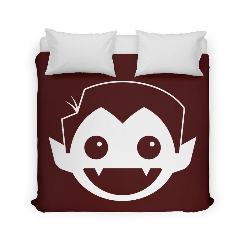 DRACULAD Logo-White Home Duvet by DRACULAD Shop