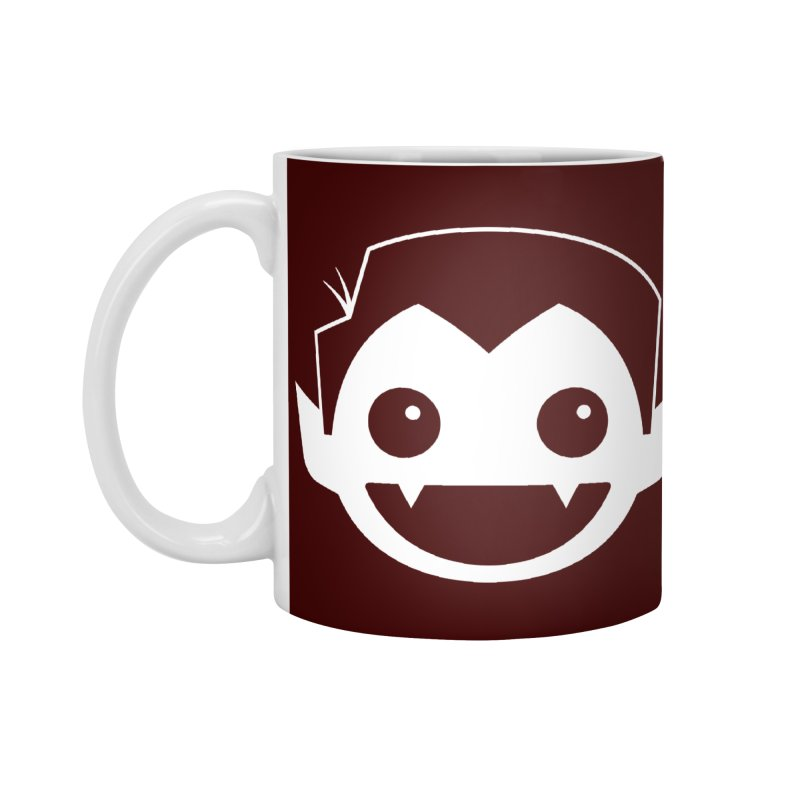 DRACULAD Logo-White Accessories Standard Mug by DRACULAD Shop