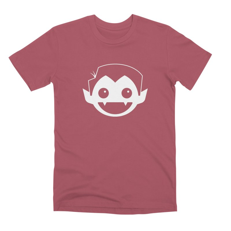DRACULAD Logo-White Men's Premium T-Shirt by DRACULAD Shop