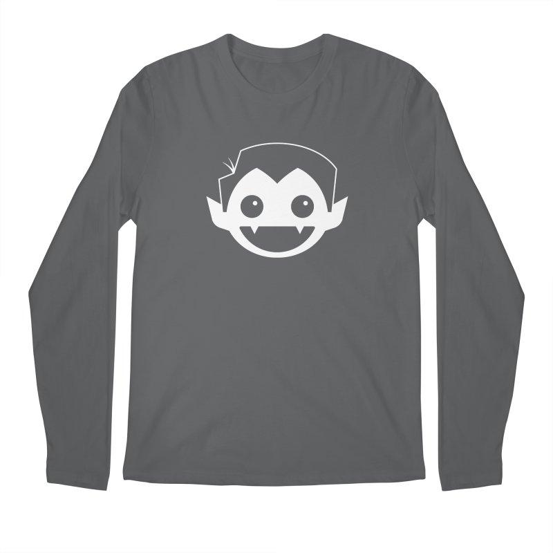 DRACULAD Logo-White Men's Regular Longsleeve T-Shirt by DRACULAD Shop