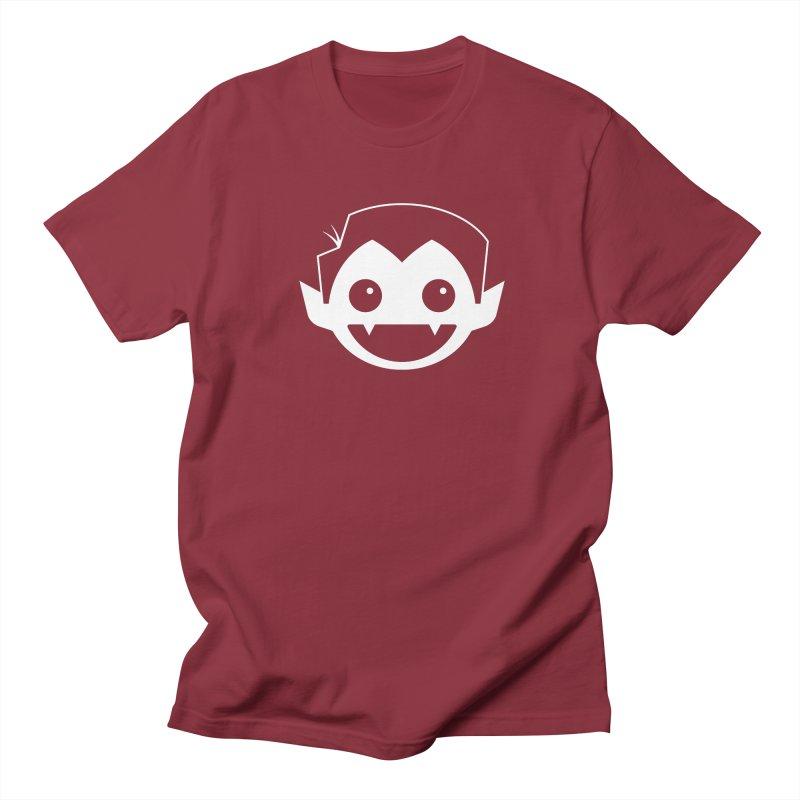 DRACULAD Logo-White Men's Regular T-Shirt by DRACULAD Shop