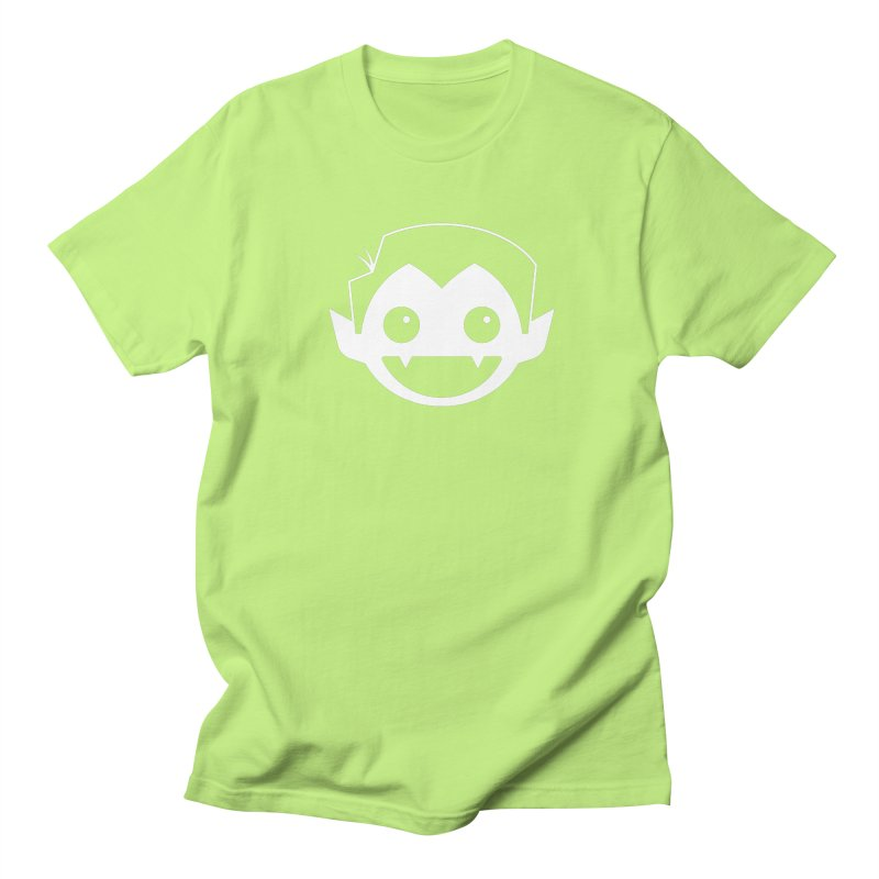DRACULAD Logo-White Women's Regular Unisex T-Shirt by DRACULAD Shop