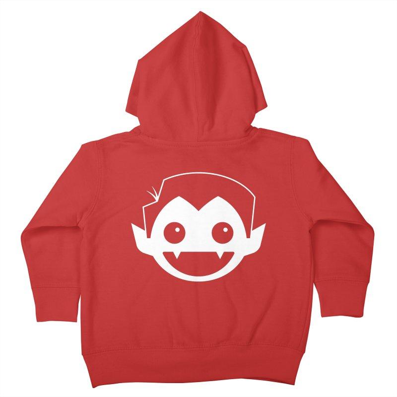 DRACULAD Logo-White Kids Toddler Zip-Up Hoody by DRACULAD Shop