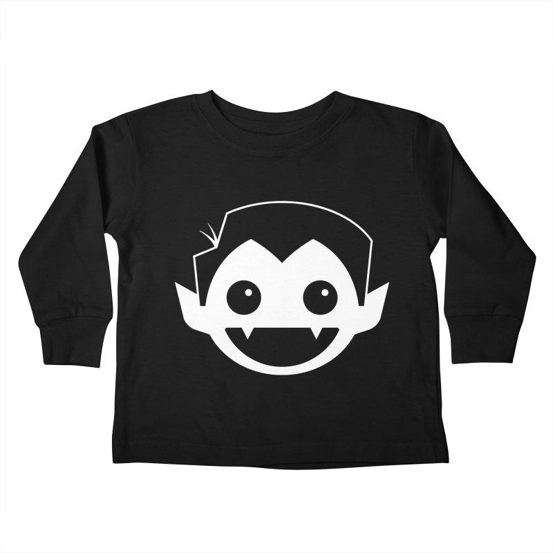 DRACULAD Logo-White Kids Toddler Longsleeve T-Shirt by DRACULAD Shop