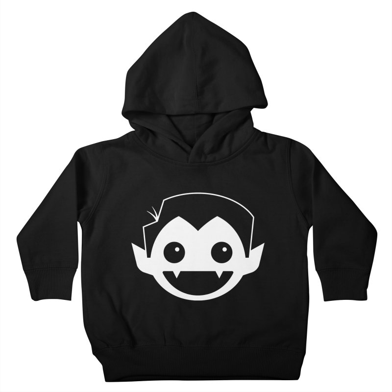 DRACULAD Logo-White Kids Toddler Pullover Hoody by DRACULAD Shop
