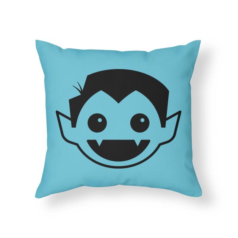 DRACULAD Logo-Black Home Throw Pillow by DRACULAD Shop