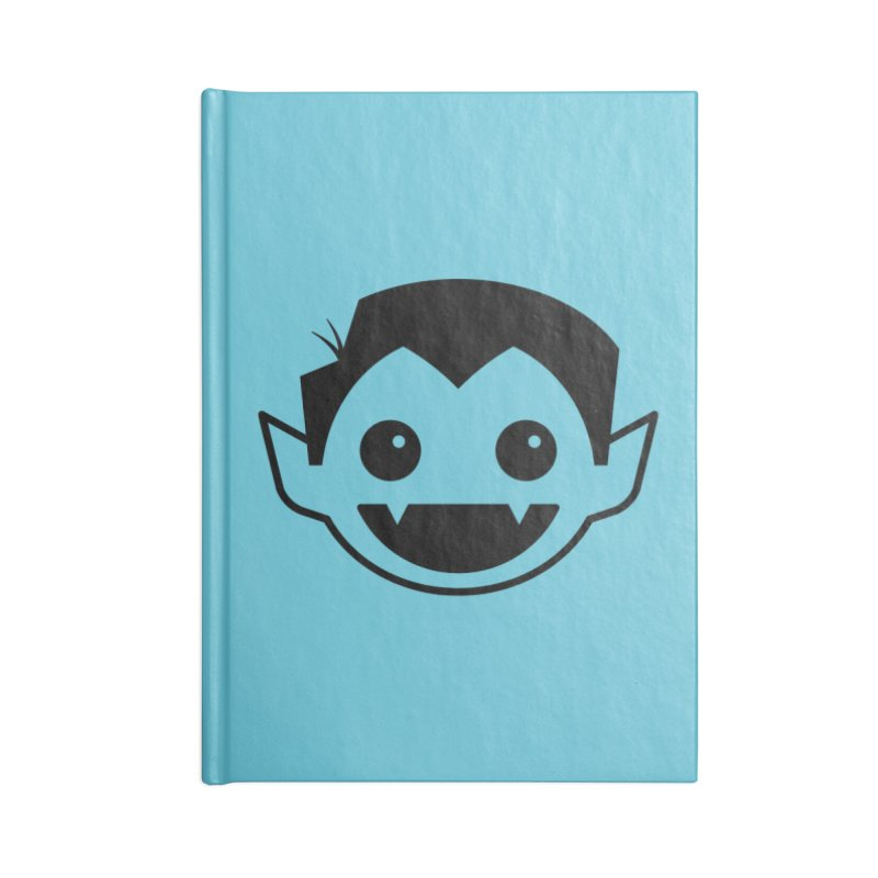 DRACULAD Logo-Black Accessories Blank Journal Notebook by DRACULAD Shop