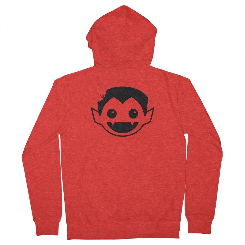DRACULAD Logo-Black Men's Zip-Up Hoody by DRACULAD Shop