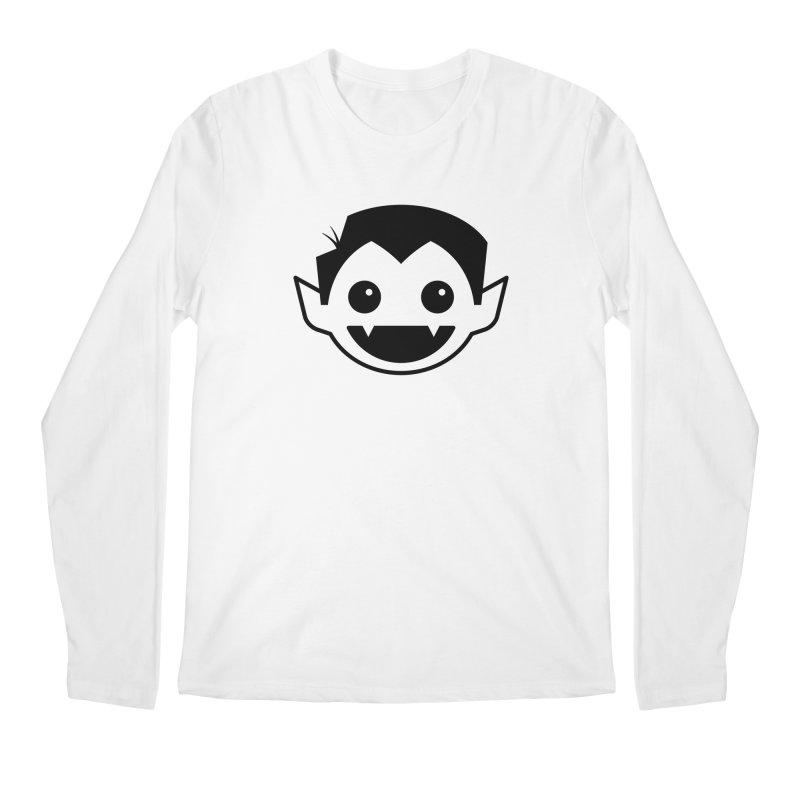 DRACULAD Logo-Black Men's Regular Longsleeve T-Shirt by DRACULAD Shop