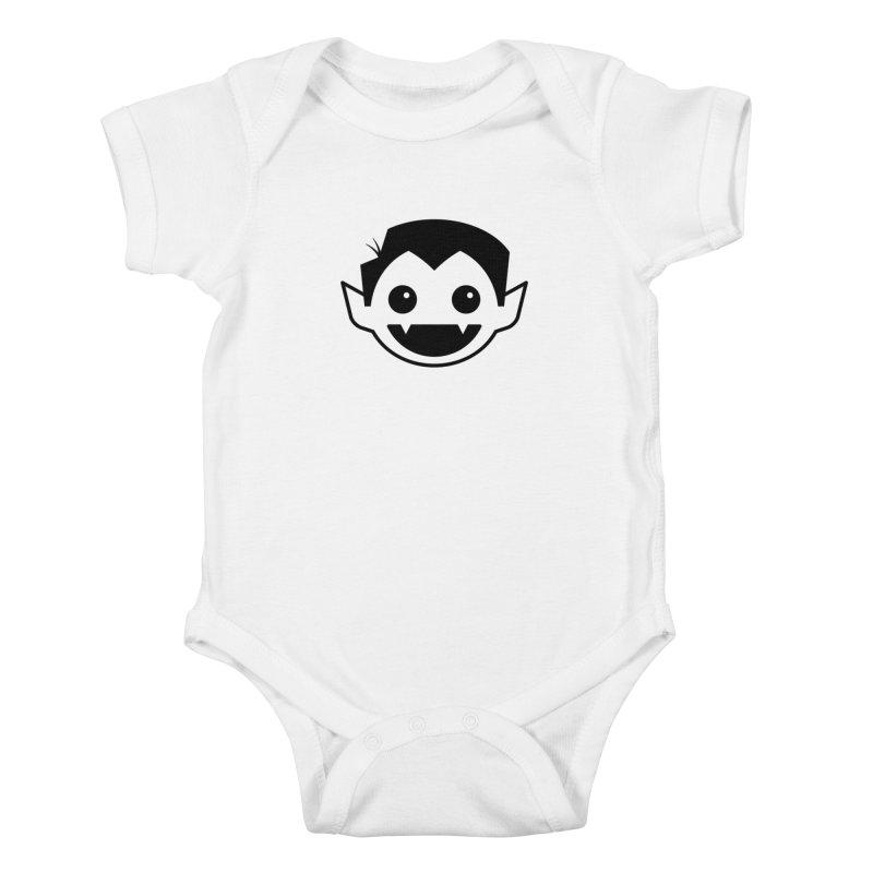 DRACULAD Logo-Black Kids Baby Bodysuit by DRACULAD Shop