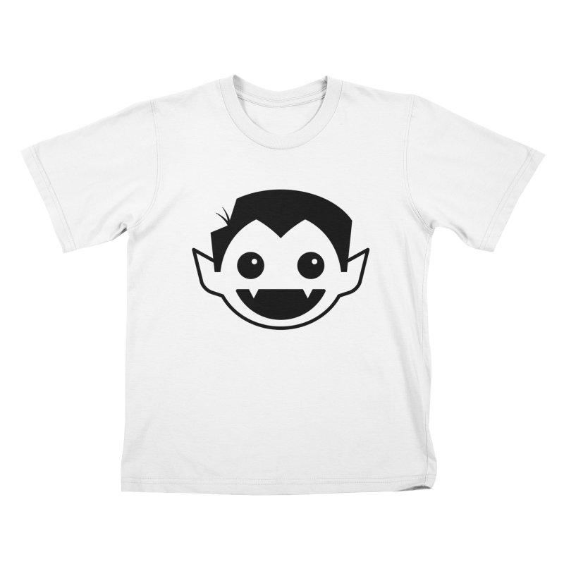 DRACULAD Logo-Black Kids T-Shirt by DRACULAD Shop