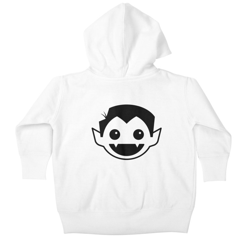 DRACULAD Logo-Black Kids Baby Zip-Up Hoody by DRACULAD Shop