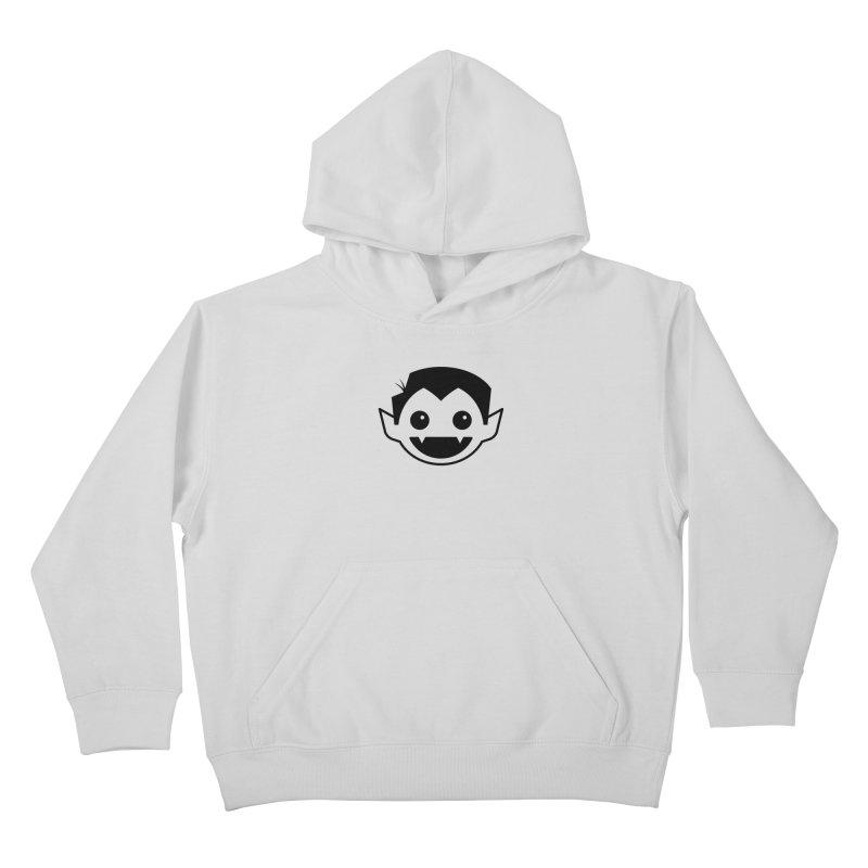 DRACULAD Logo-Black Kids Pullover Hoody by DRACULAD Shop