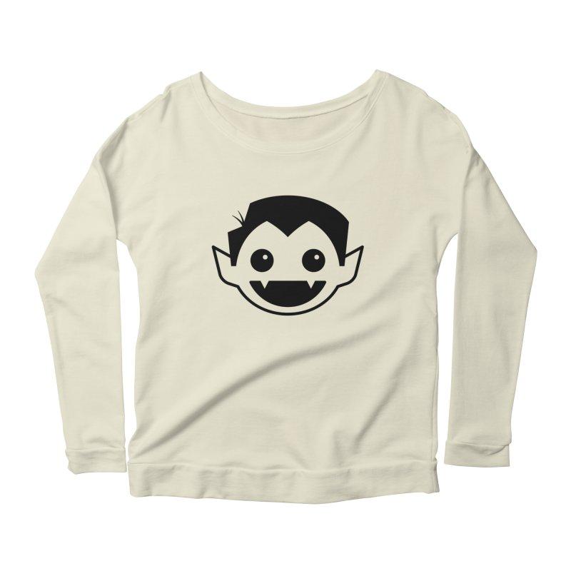 DRACULAD Logo-Black Women's Scoop Neck Longsleeve T-Shirt by DRACULAD Shop