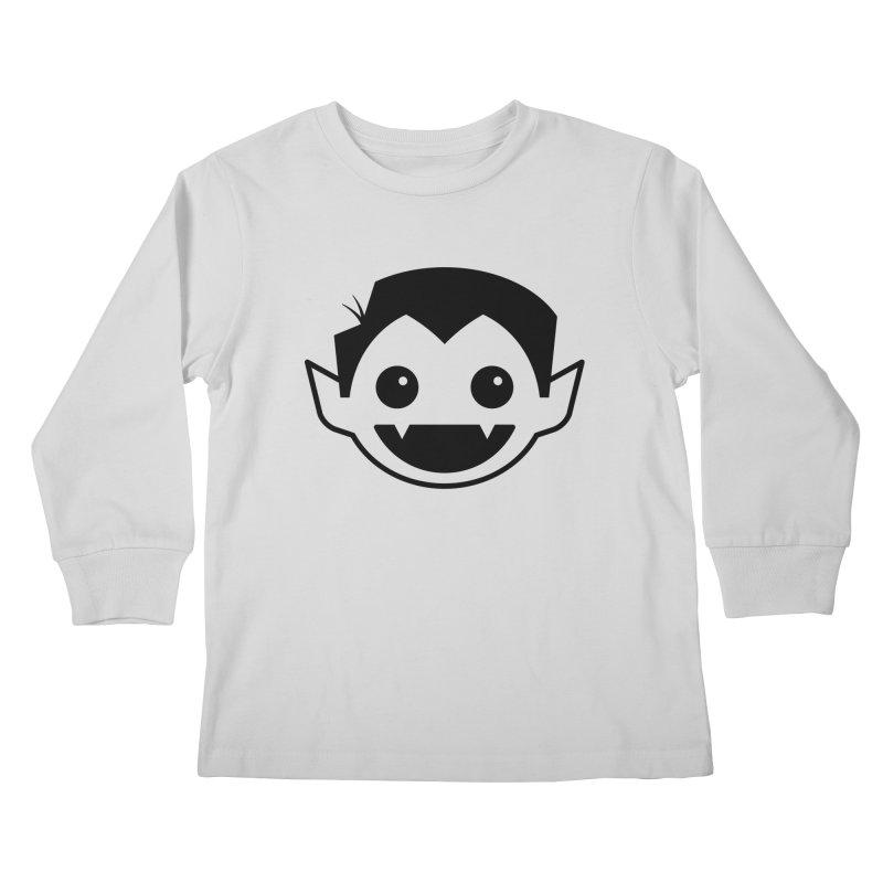 DRACULAD Logo-Black Kids Longsleeve T-Shirt by DRACULAD Shop