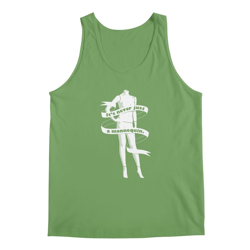 It's Never Just A Mannequin-White Men's Tank by DRACULAD Shop