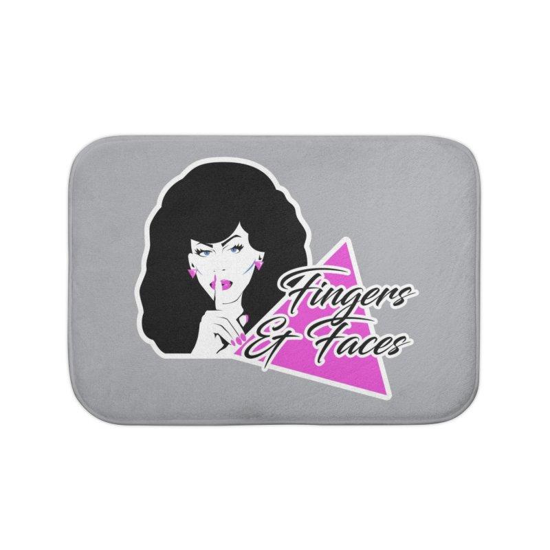 Fingers & Faces Home Bath Mat by DRACULAD Shop