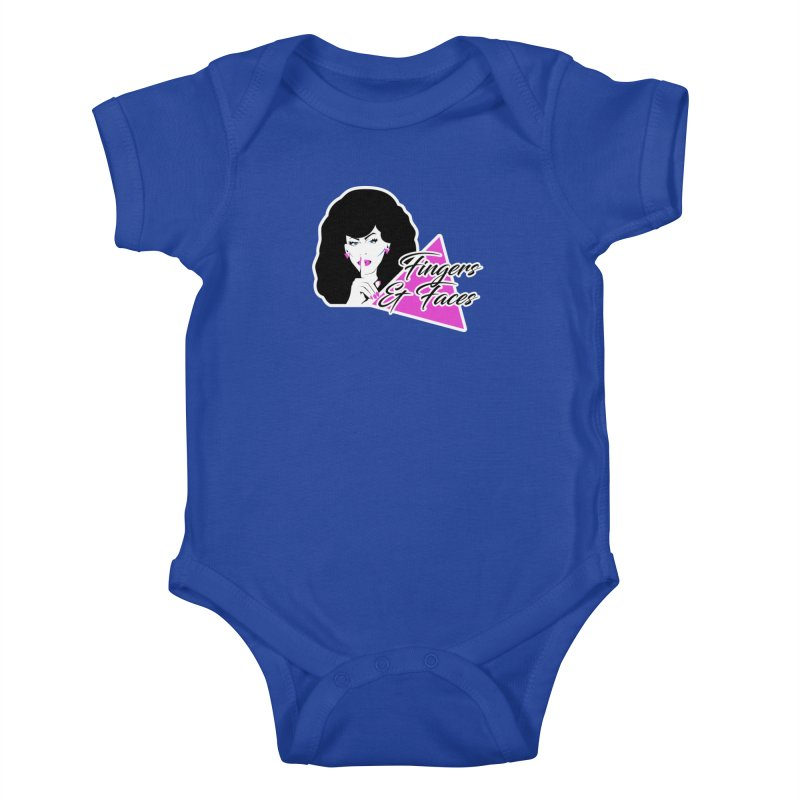 Fingers & Faces Kids Baby Bodysuit by DRACULAD Shop