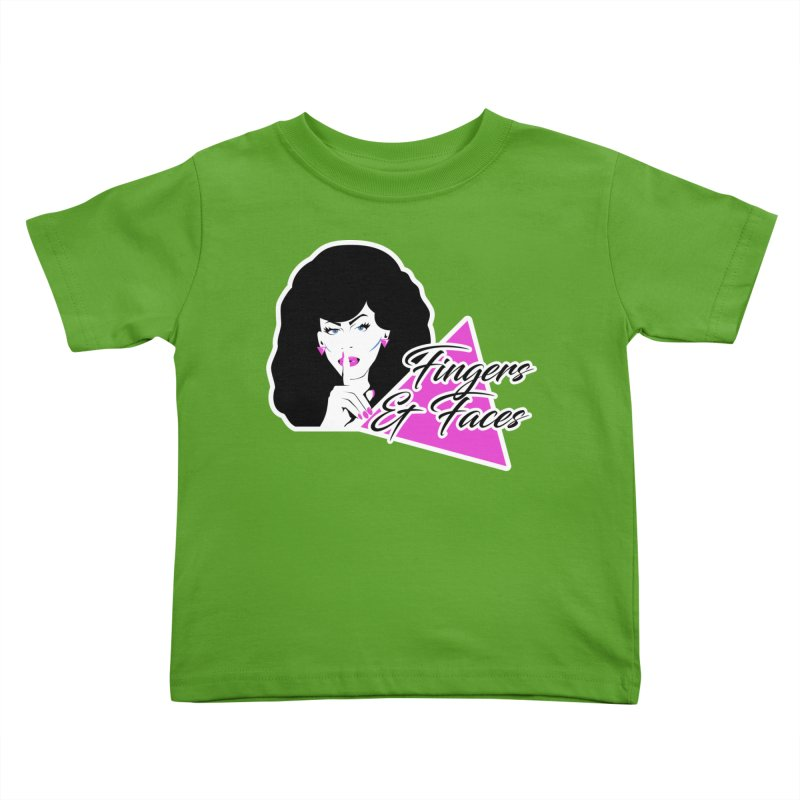 Fingers & Faces Kids Toddler T-Shirt by DRACULAD Shop