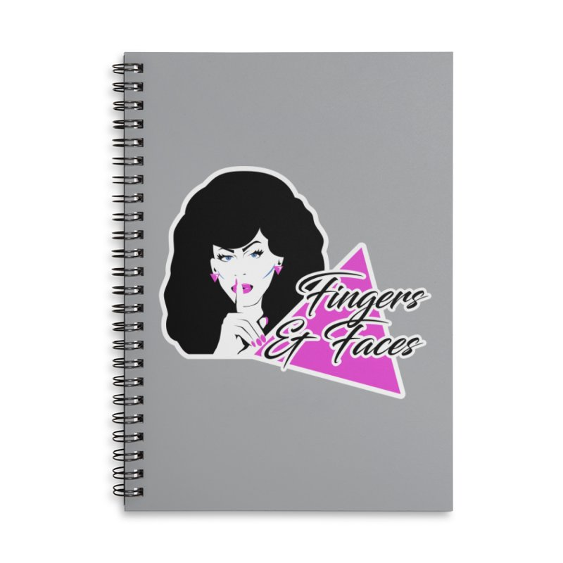 Fingers & Faces Accessories Notebook by DRACULAD Shop
