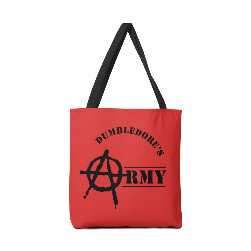 Dumbledore's Army - Black Accessories Tote Bag Bag by DRACULAD Shop