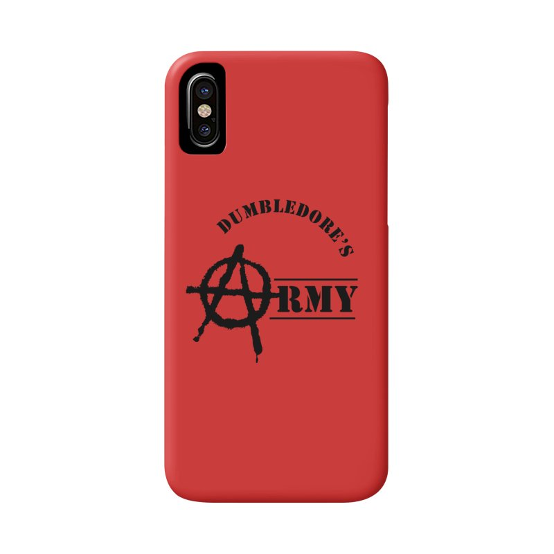 Dumbledore's Army - Black Accessories Phone Case by DRACULAD Shop