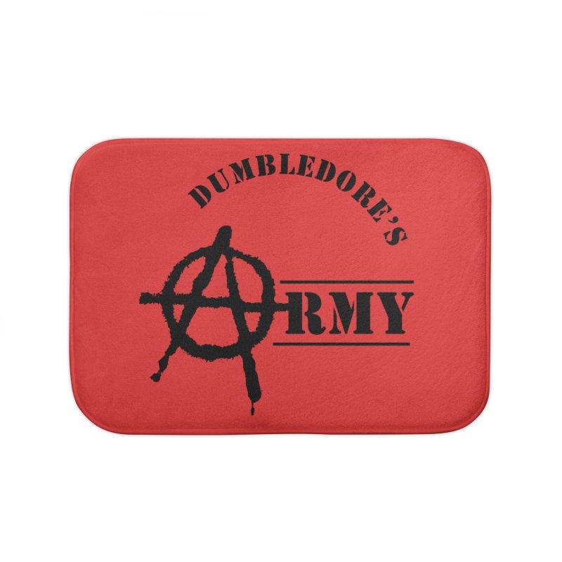 Dumbledore's Army - Black Home Bath Mat by DRACULAD Shop