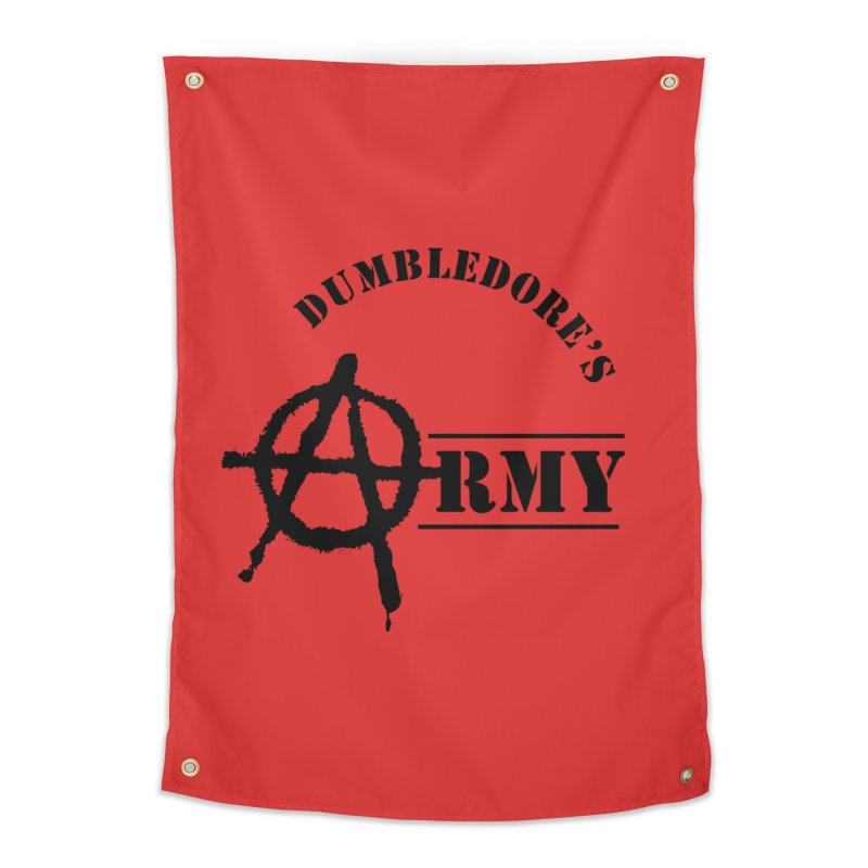 Dumbledore's Army - Black Home Tapestry by DRACULAD Shop